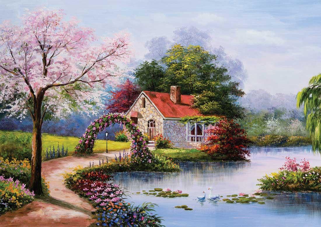 Image de Puzzle La Maison du Lac KS Games
