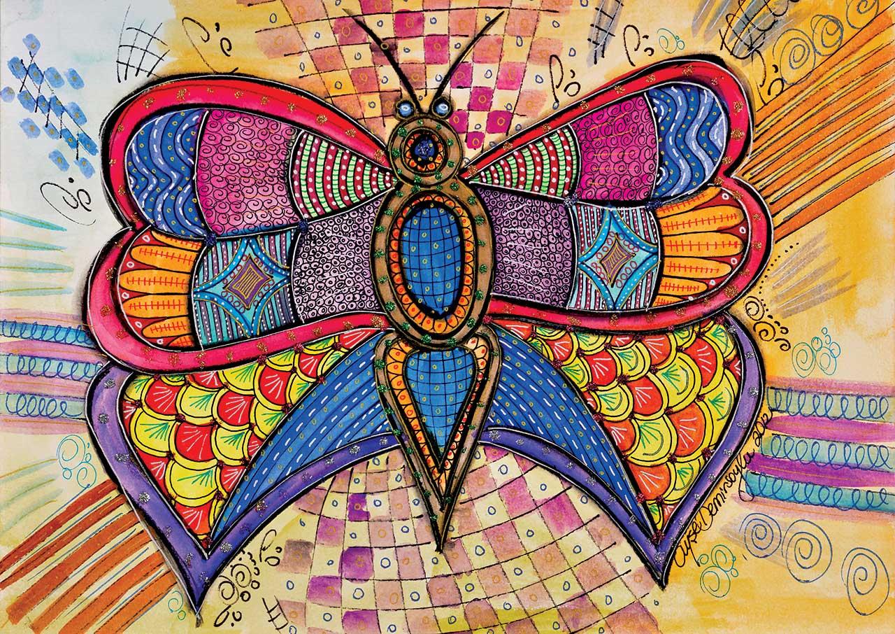 Image de Puzzle Papillon KS Games