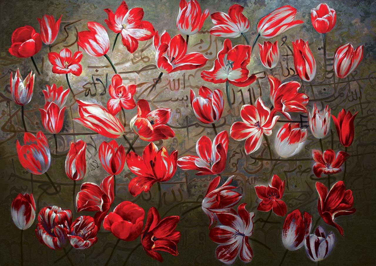 Image de Puzzle Red Tulips KS Games