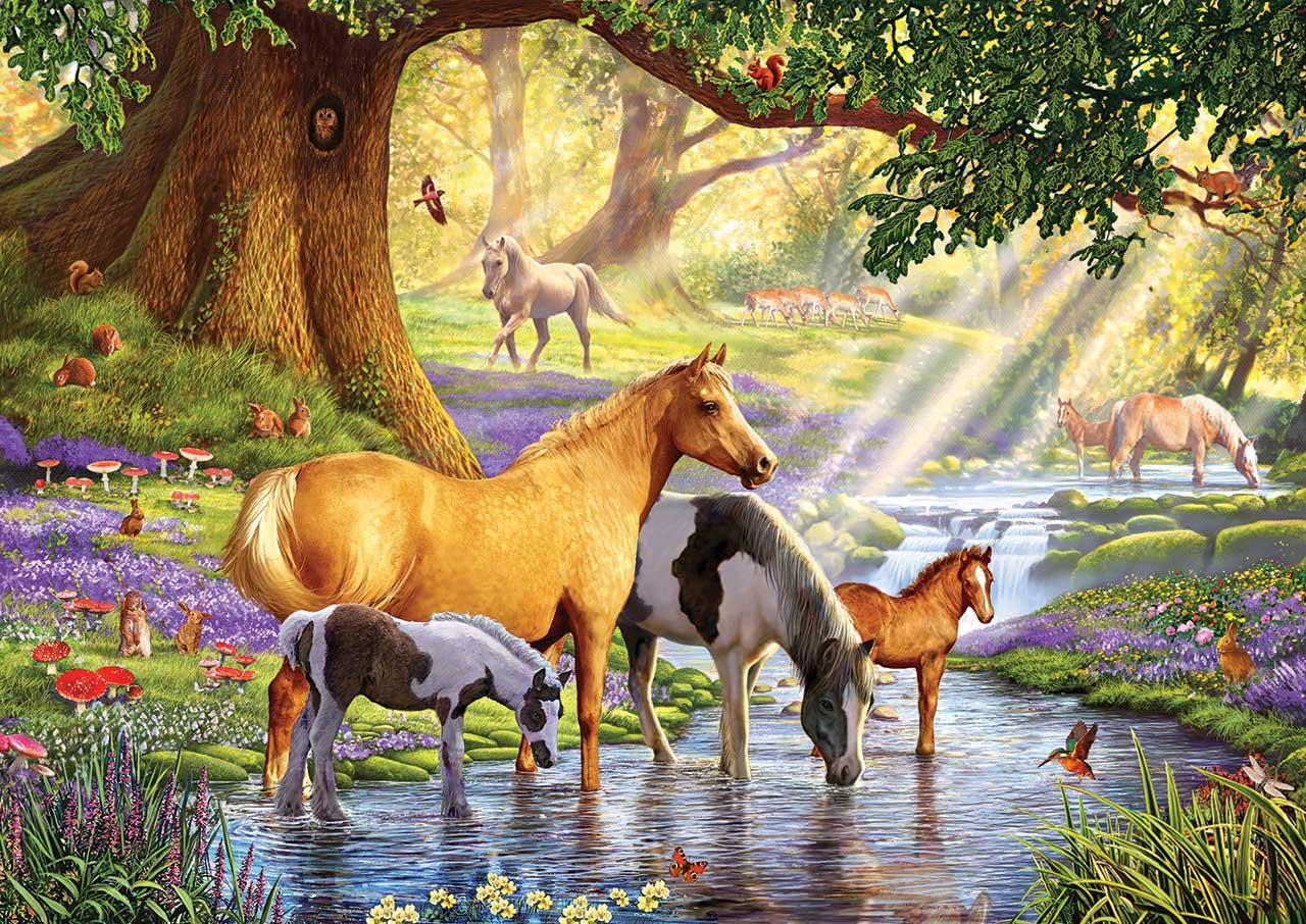 steve-crisp-horses-by-the-stream