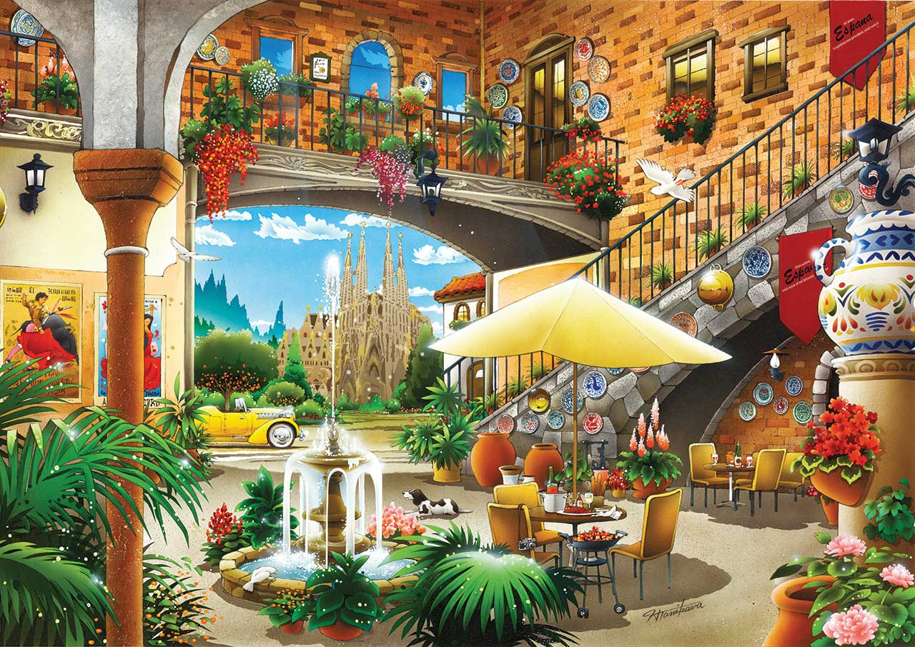 Image de Puzzle Barcelone KS Games