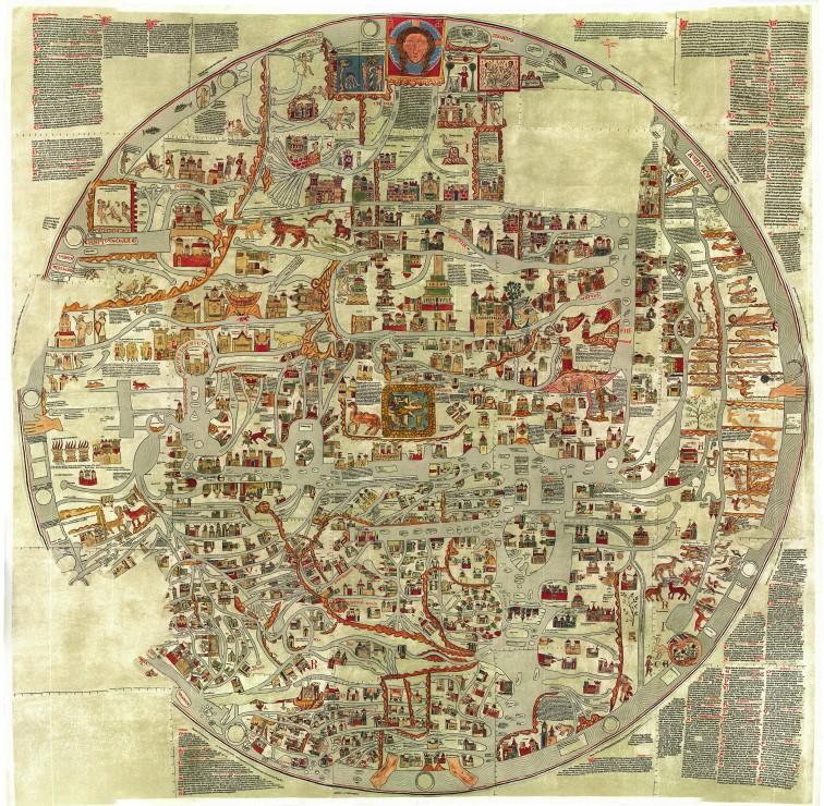 la-carte-d-ebstorf-mappemonde-du-xiie-siecle