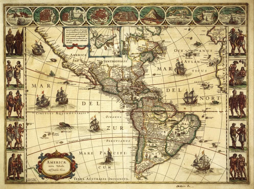 willem-janszoon-blaeu-carte-de-l-ame-rique-en-1645