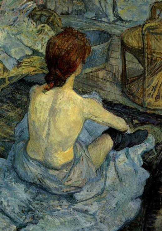 henri-de-toulouse-lautrec-femme-a-sa-toilette-1889