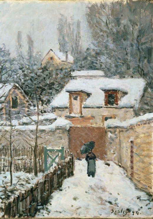 alfred-sisley-la-neige-a-louveciennes-1878