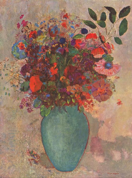 odilon-redon-le-vase-turc-1911