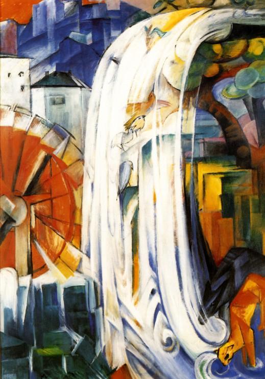 franz-marc-die-verzauberte-muhle-1913
