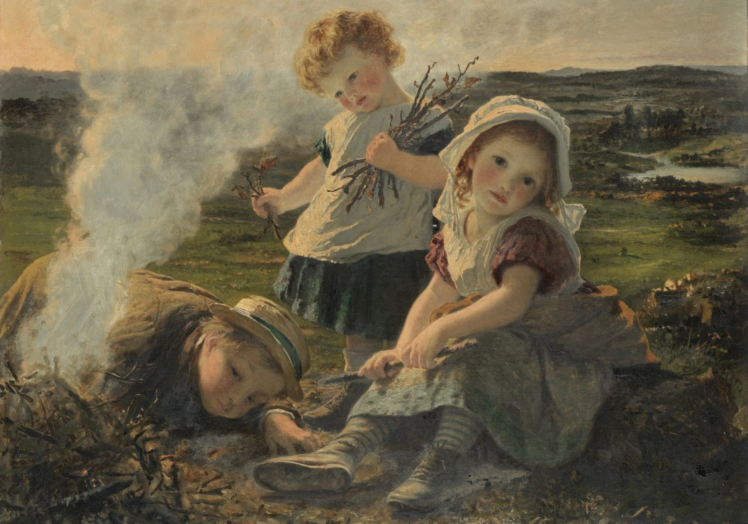 sophie-gengembre-anderson-the-bonfire-1903