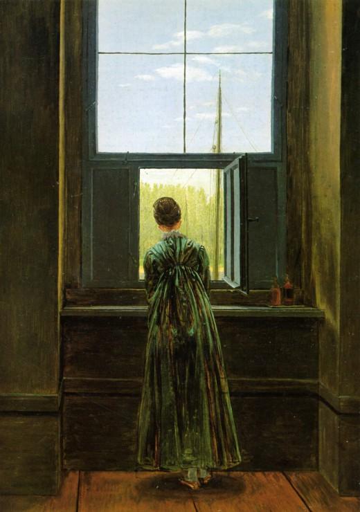 caspar-david-friedrich-femme-a-la-fenetre-1822