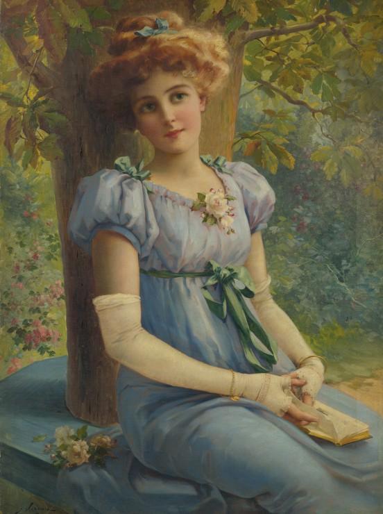 emile-vernon-un-doux-regard-1919