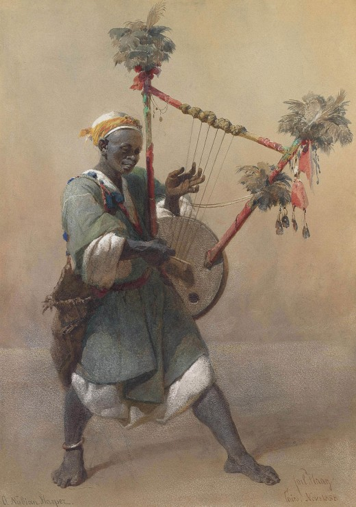 carl-haag-a-nubian-harper-1858