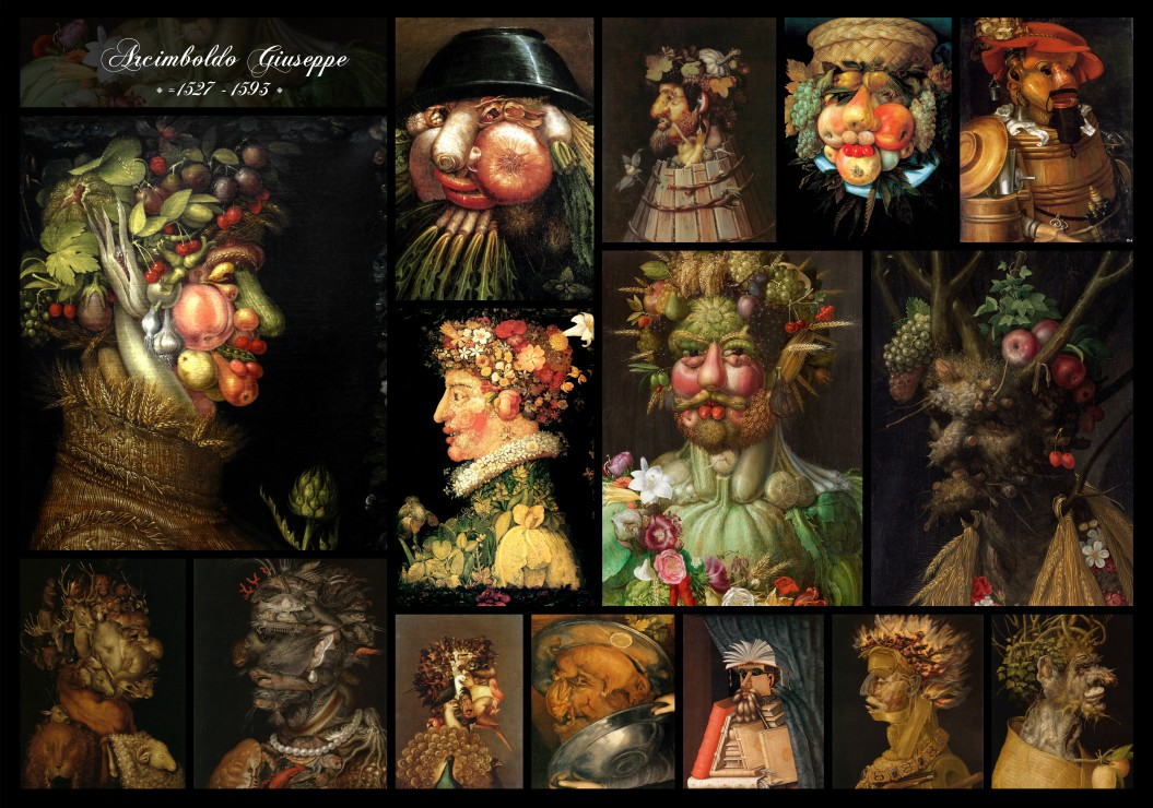 arcimboldo-giuseppe-collage