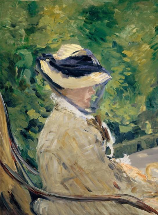 edouard-manet-madame-manet-a-bellevue-1880