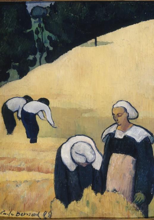 emile-bernard-la-moisson-1888
