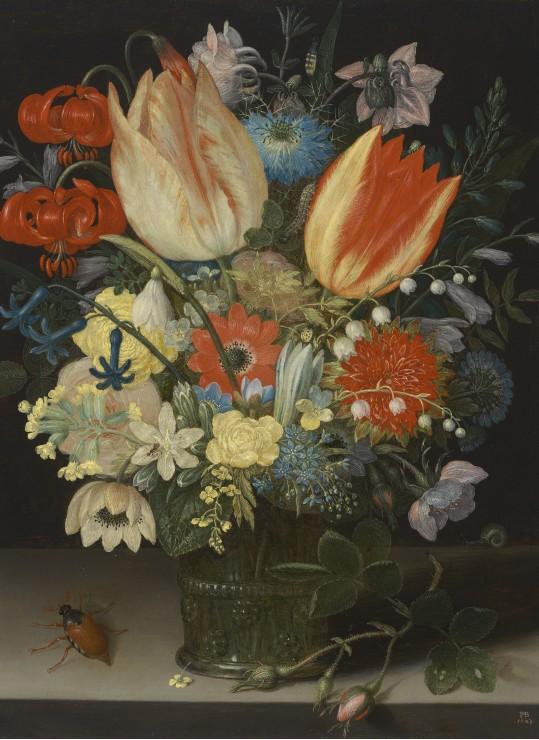 peter-binoit-nature-morte-avec-des-tulipes-1623