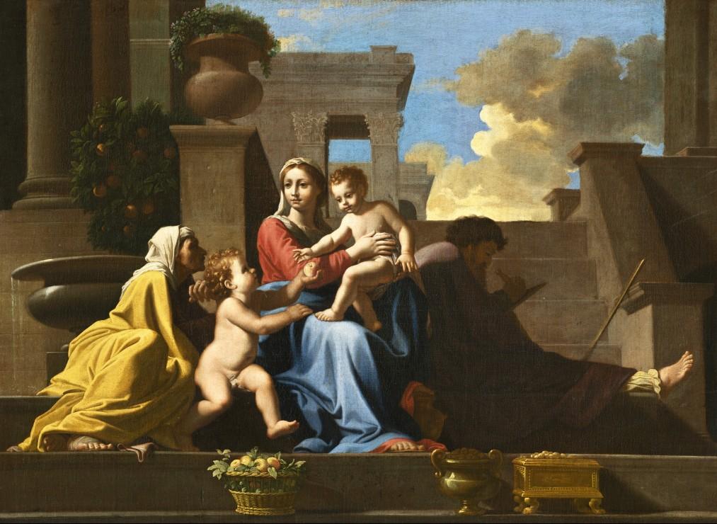 nicolas-poussin-la-sainte-famille-sur-les-marches-1648