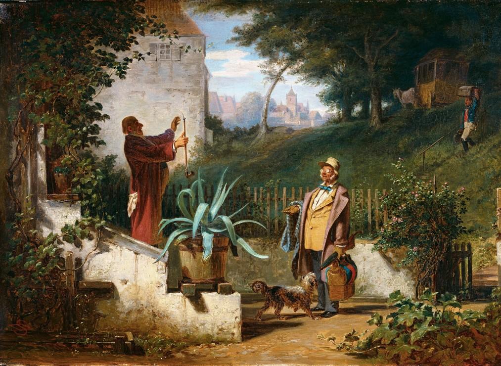 carl-spitzweg-jugendfreunde-1855