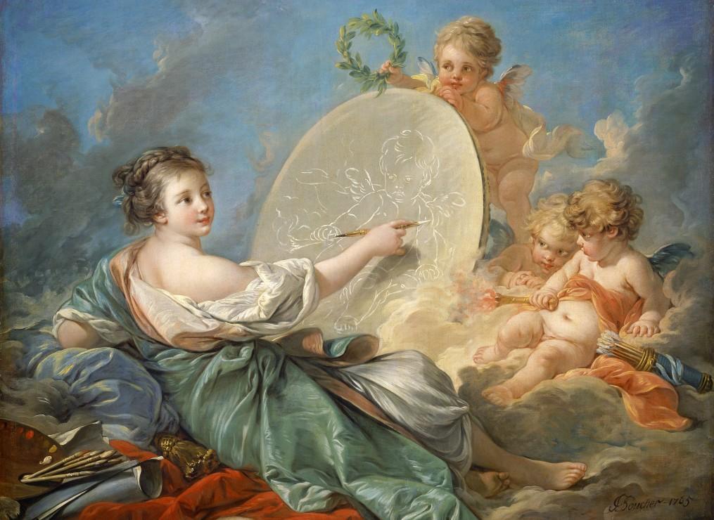 francois-boucher-allegorie-de-la-peinture-1765