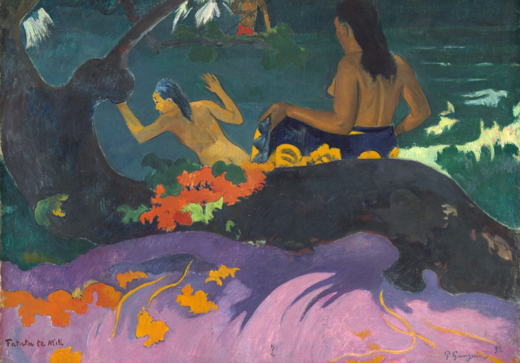paul-gauguin-fatata-te-miti-par-la-mer-1892