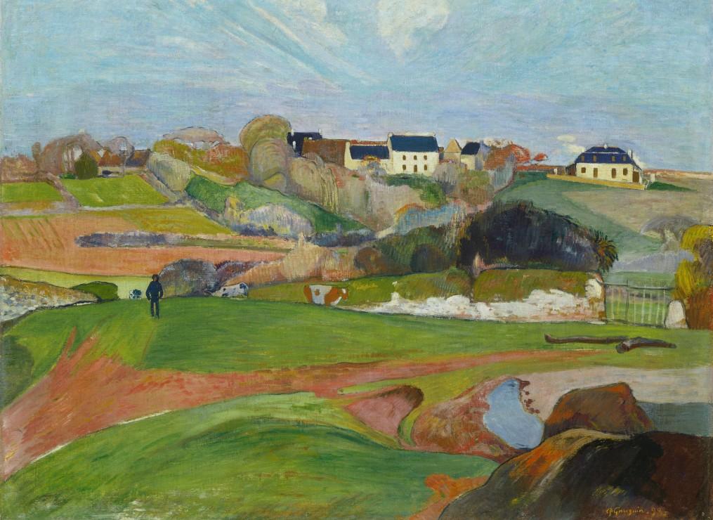 paul-gauguin-paysage-a-pouldu-1890