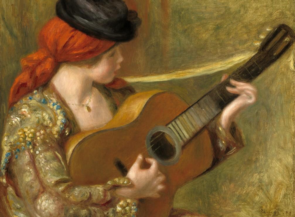 auguste-renoir-jeune-femme-espagnole-avec-une-guitare-1898