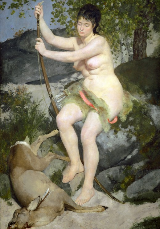 auguste-renoir-diana-1867