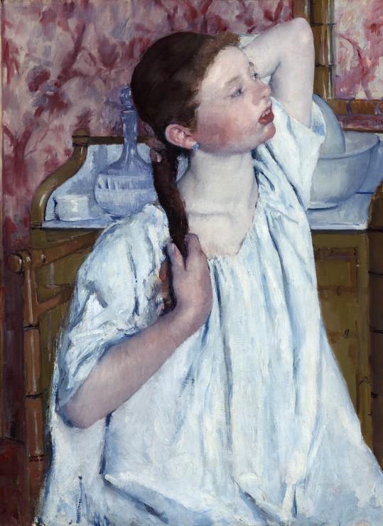 mary-cassatt-jeune-fille-coiffant-ses-cheveux-1886