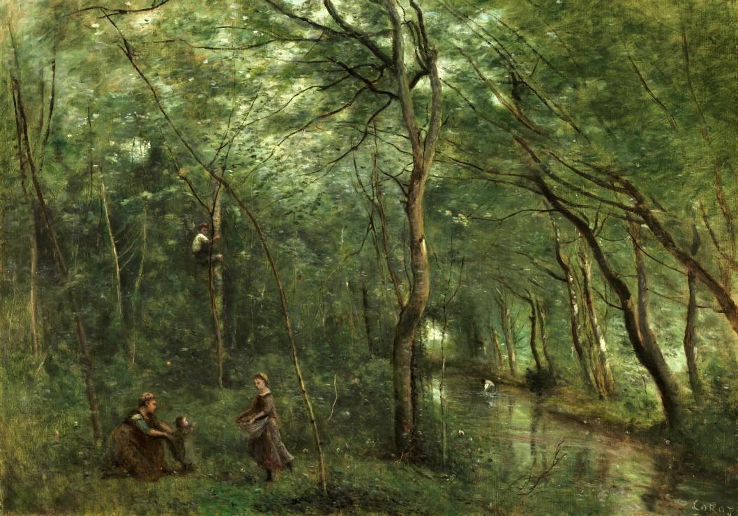 jean-baptiste-camille-corot-les-ramasseurs-d-anguille-1860-1865