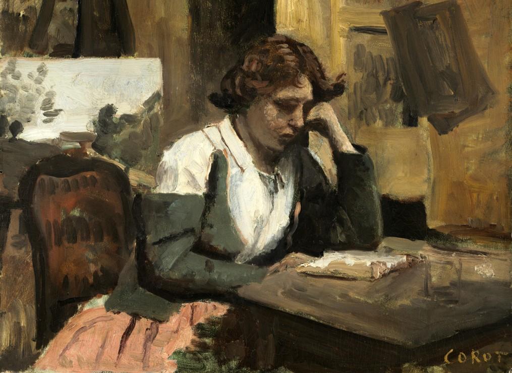 jean-baptiste-camille-corot-lecture-de-jeune-fille-1868