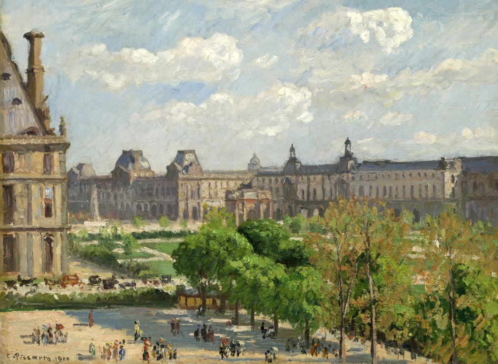 camille-pissarro-place-du-carrousel-paris-1900