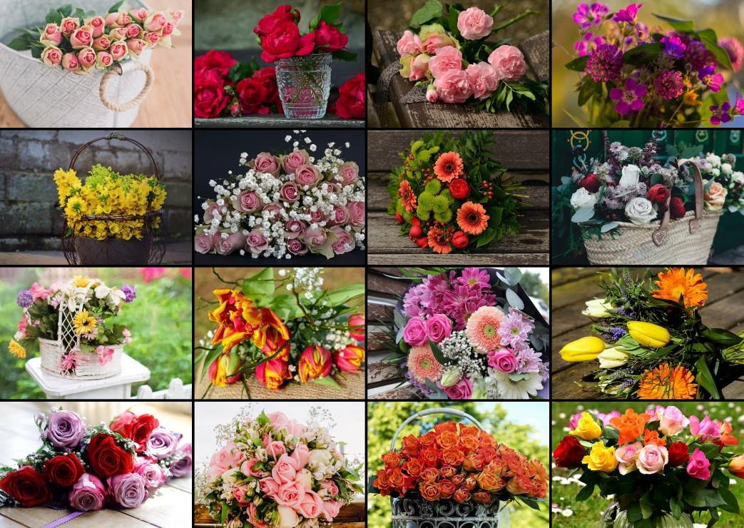 collage-bouquets-de-fleurs