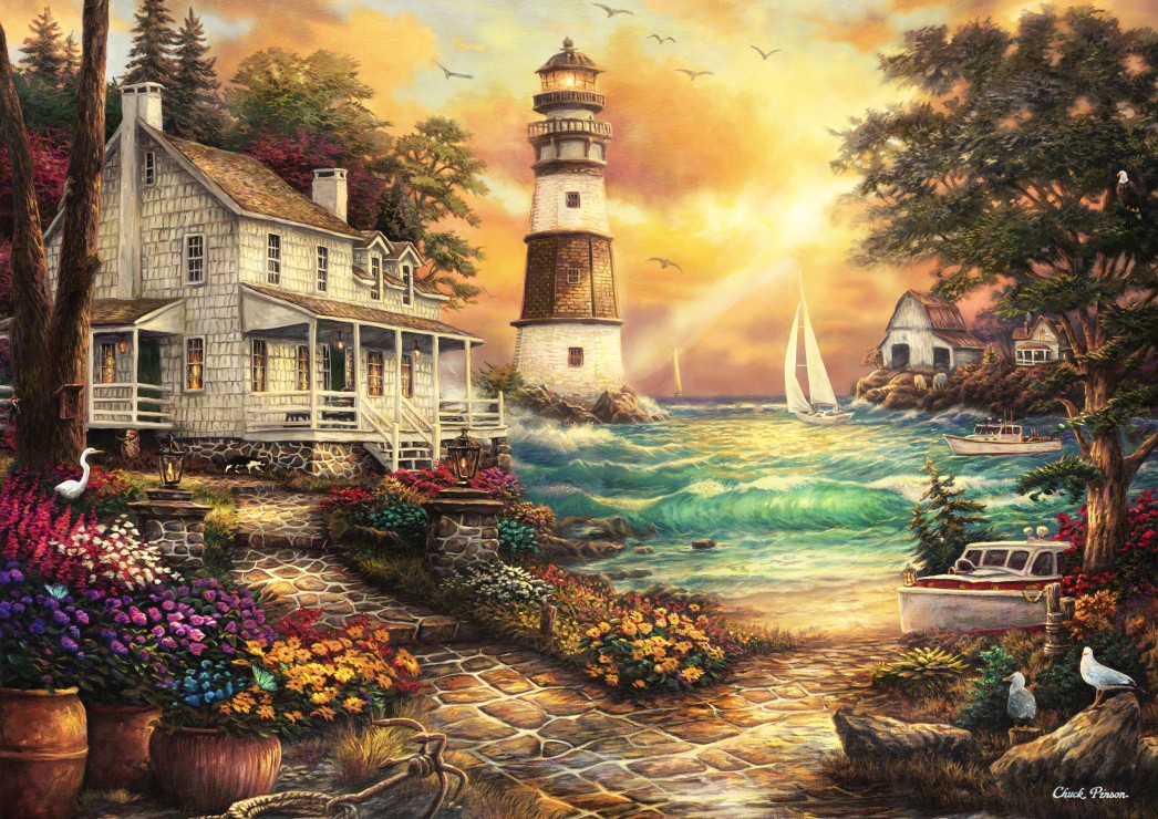 chuck-pinson-cottage-by-the-sea, 24.95 EUR @ go