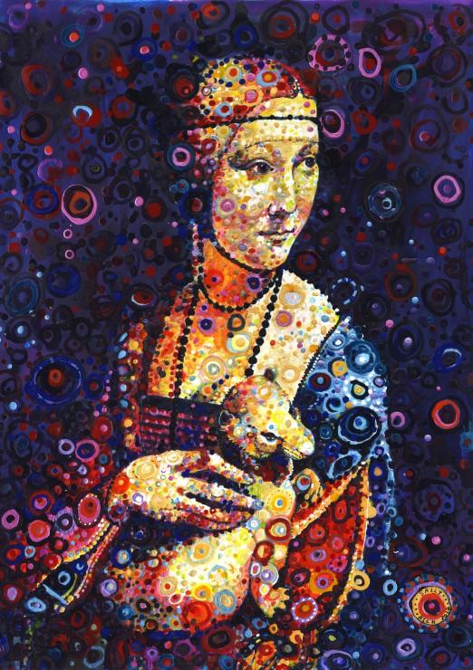 leonardo-da-vinci-lady-with-an-ermine-by-sally-rich