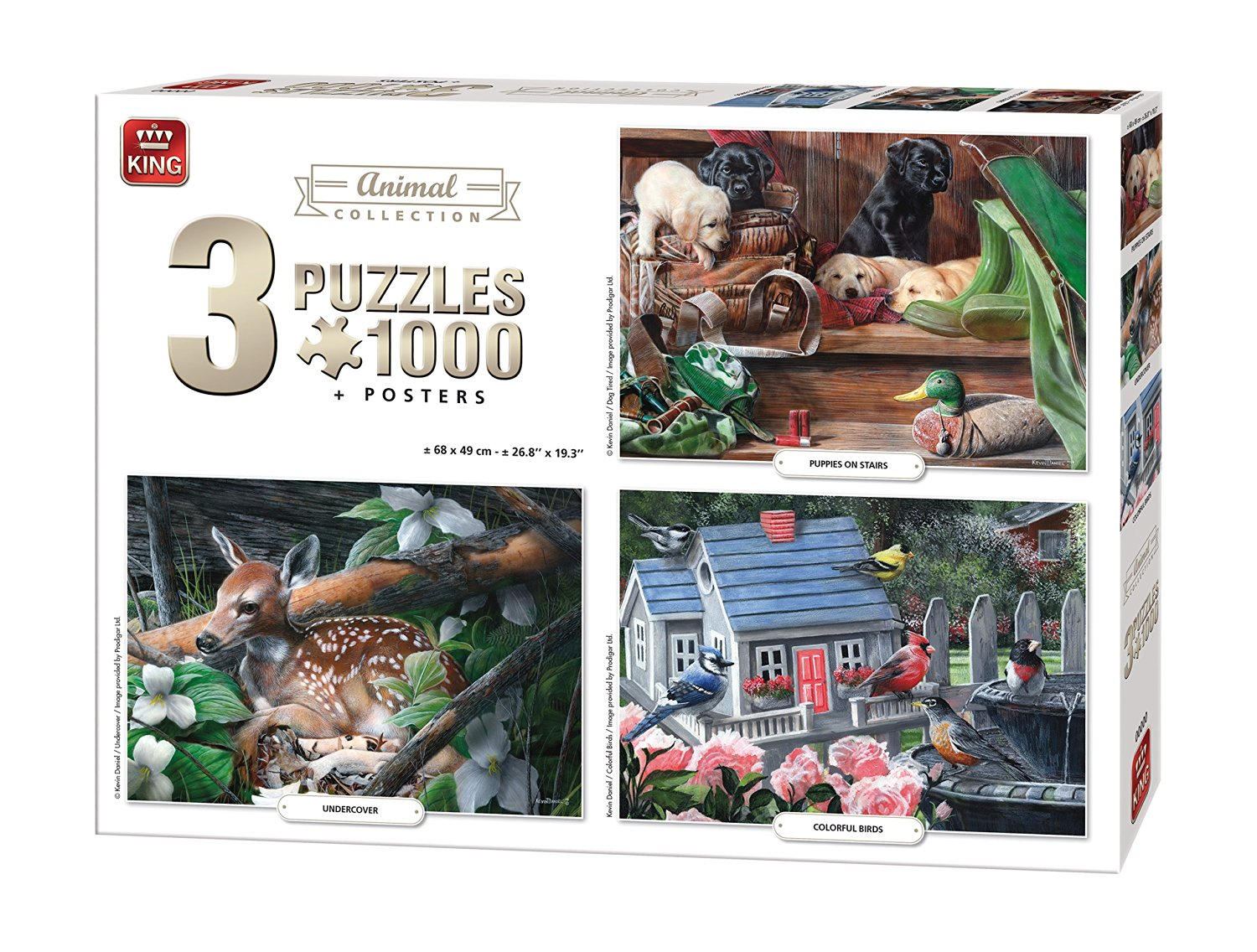 3-puzzles-animals-collection
