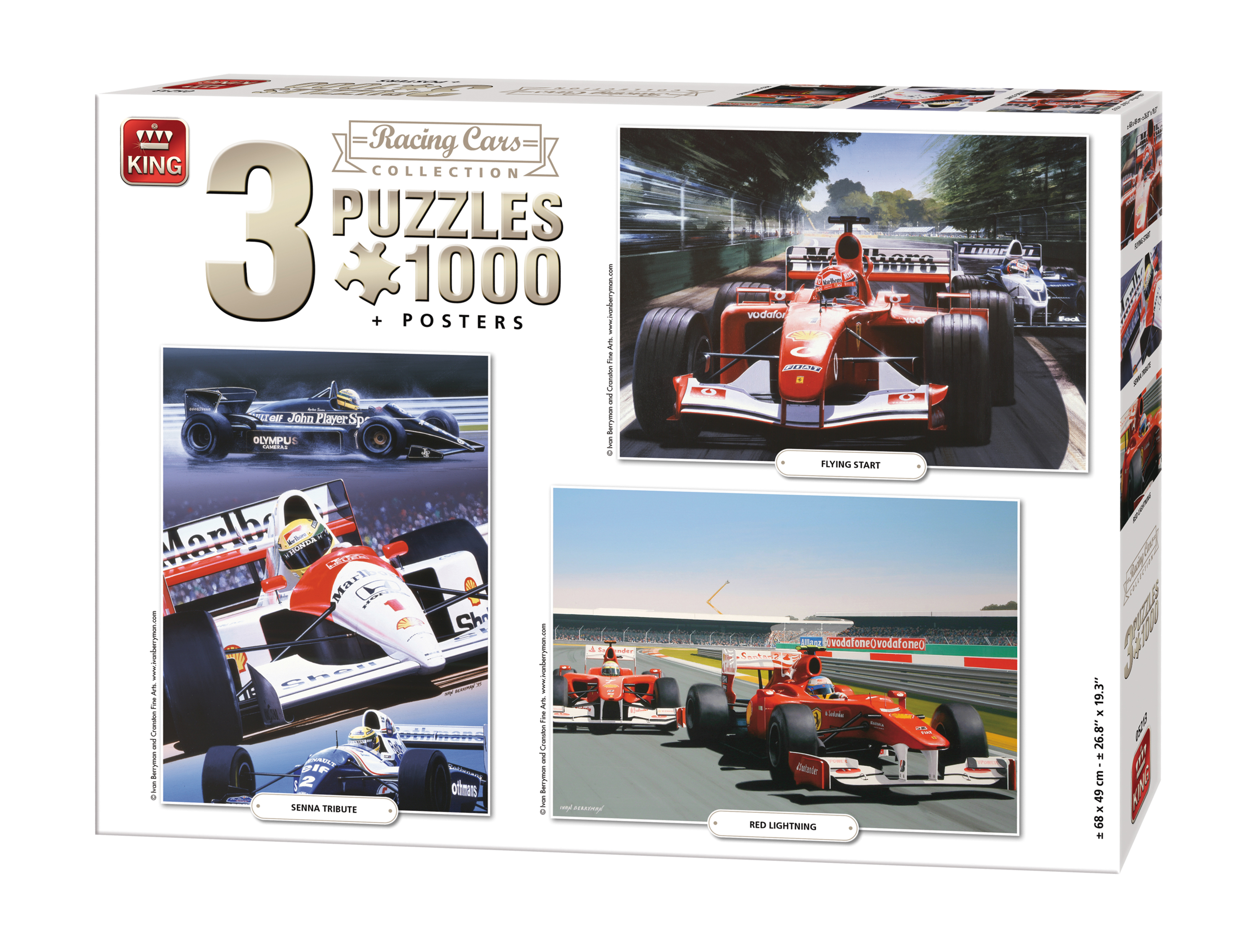 3-puzzles-racing-cars-collection