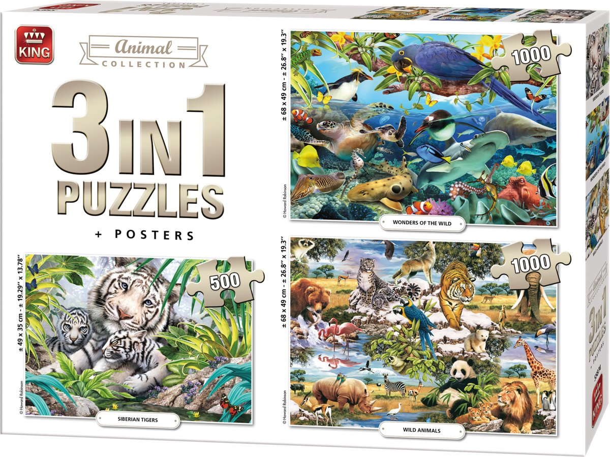 3-puzzles-animal-collection