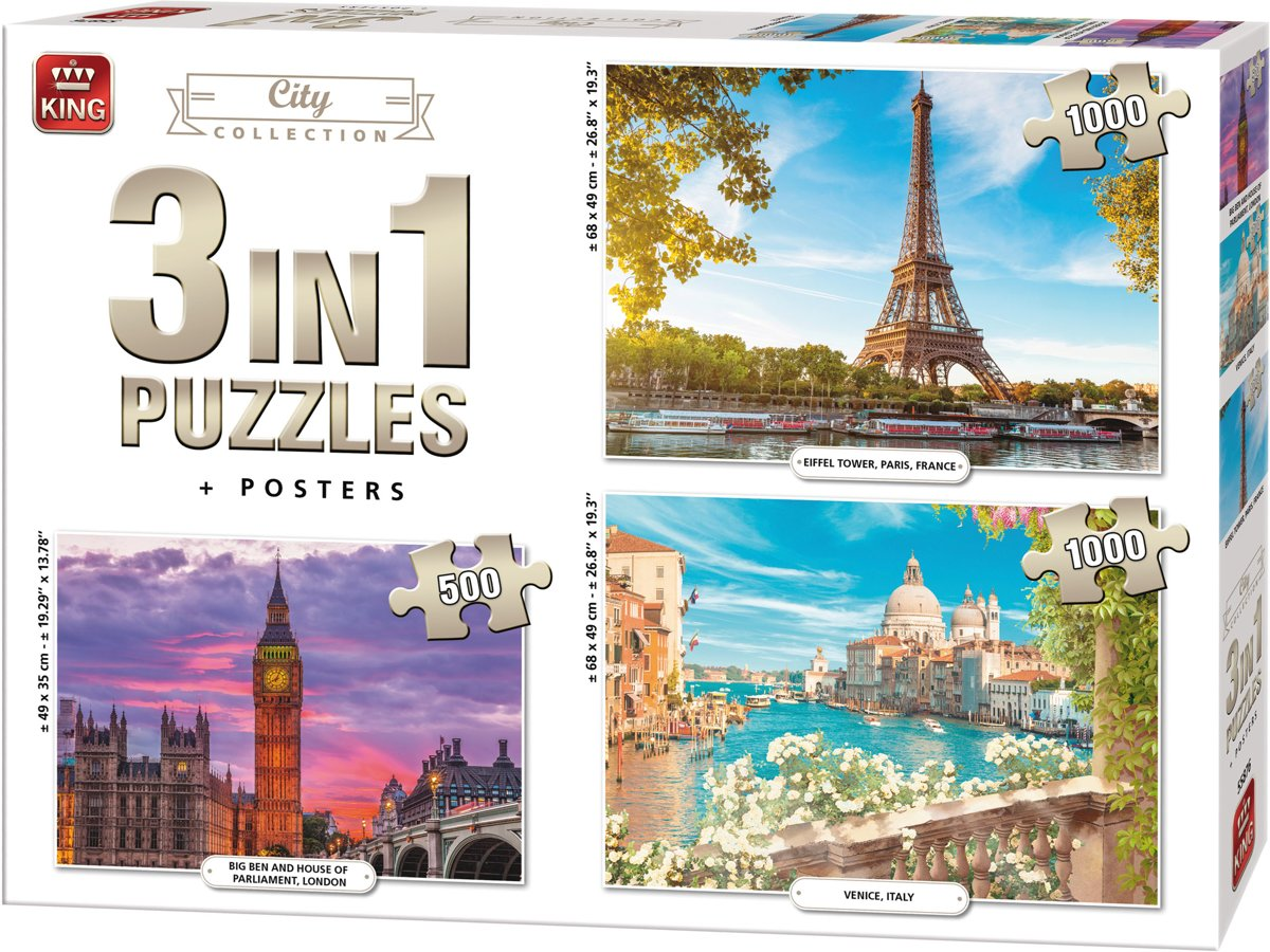 3-puzzles-city-collection