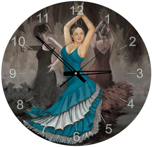 puzzle-horloge-flamenco-pile-non-fournie-