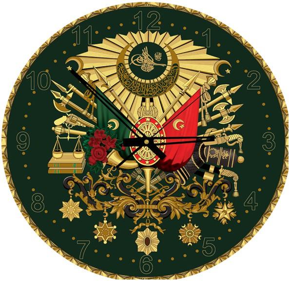 puzzle-horloge-avec-paillettes-dorees-embleme-ottoman-pile-non-fournie-