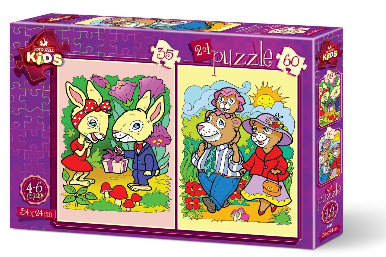 2-puzzles-the-rabbits-and-the-bear-family