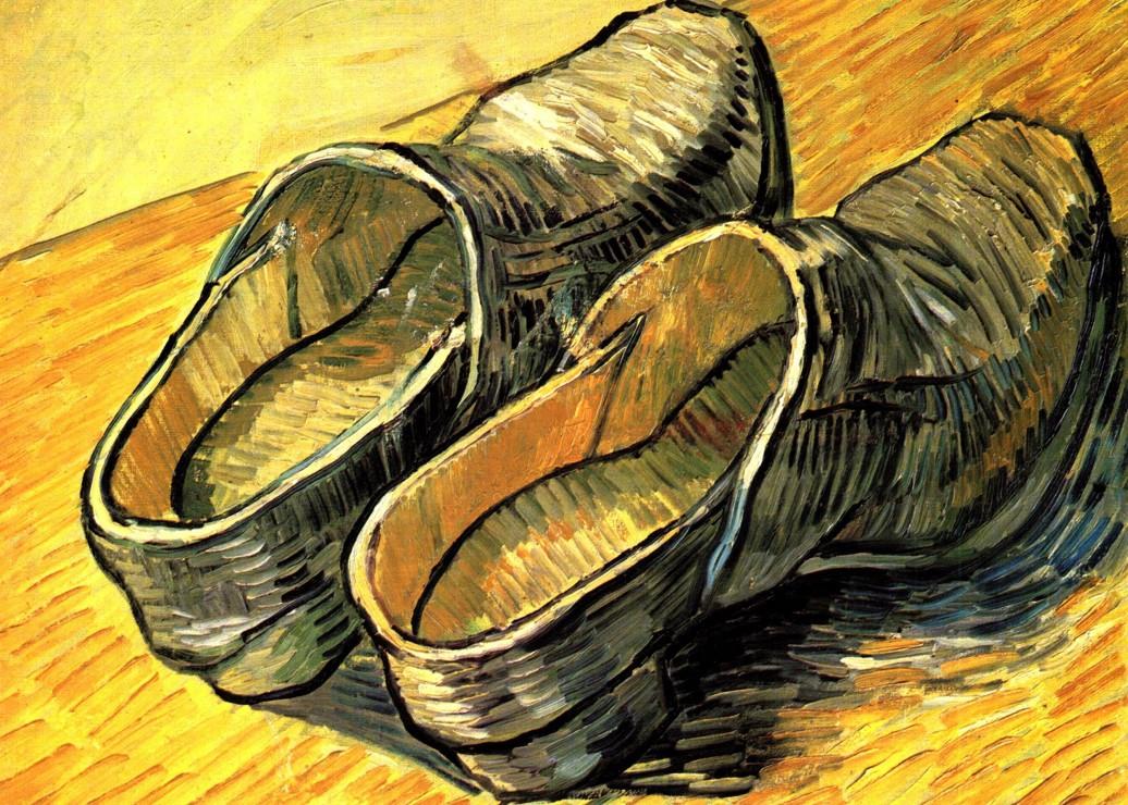 vincent-van-gogh-une-paire-de-sabots-en-cuir-1888