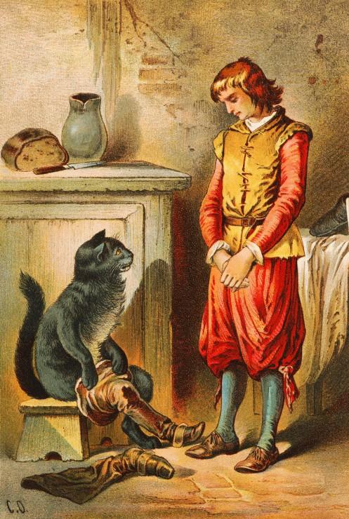 le-chat-botte-illustration-par-carl-offterdinger