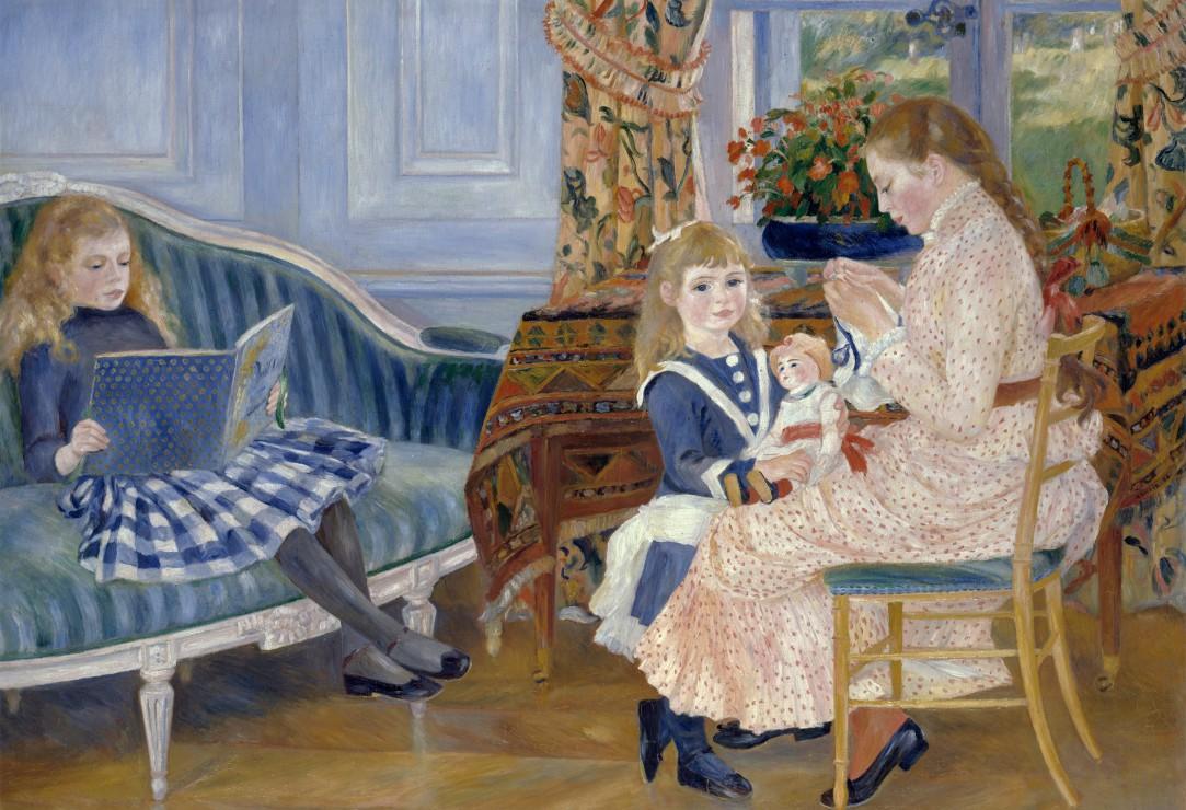 pieces-xxl-auguste-renoir-l-apres-midi-des-enfants-a-wargemont-1884