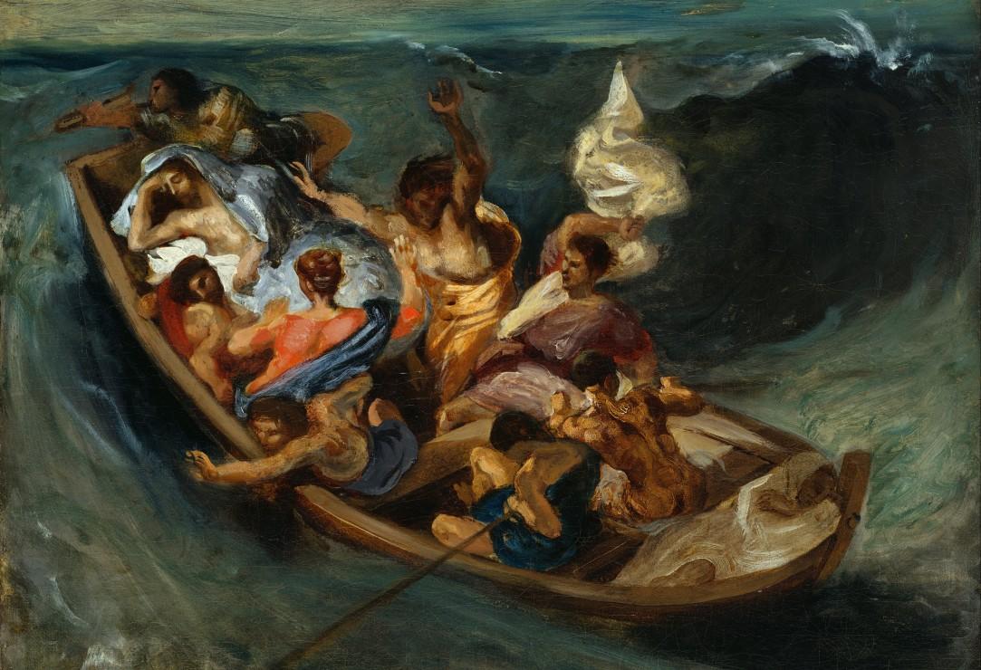 pieces-xxl-delacroix-eugene-christ-sur-la-mer-de-galilee-1841