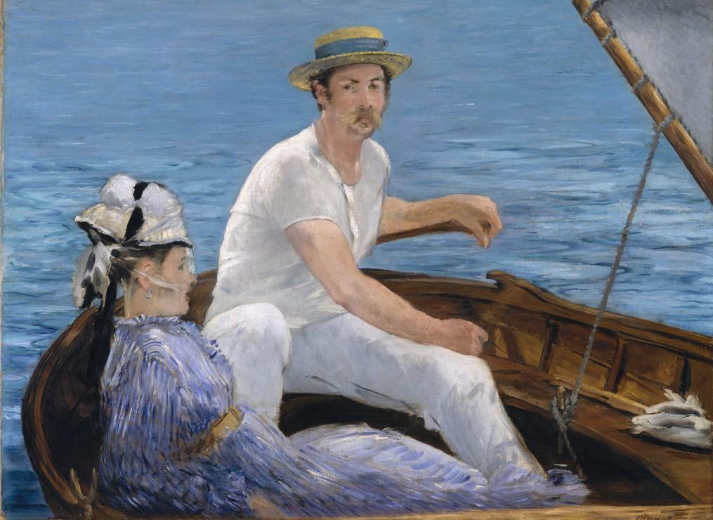 edouard-manet-en-bateau-1874