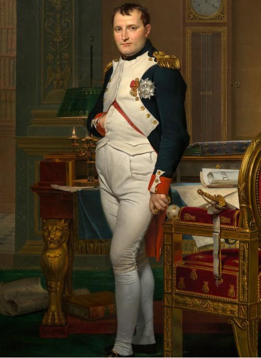 jacques-louis-david-napoleon-dans-son-cabinet-de-travail-1812