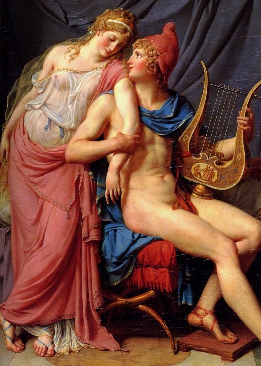 jacques-louis-david-l-amour-d-helene-et-paris-detail-1788