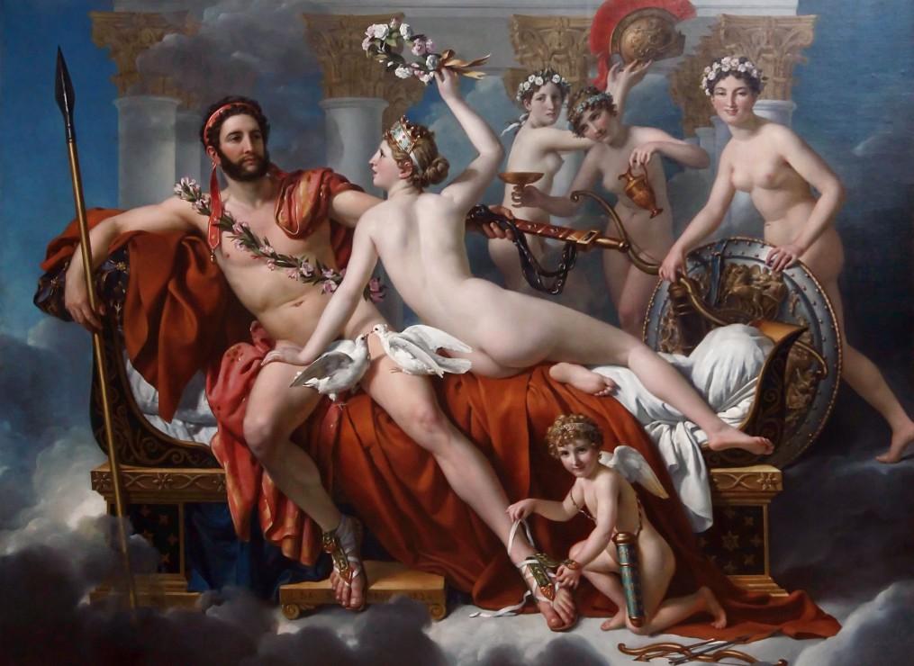 jacques-louis-david-mars-desarme-par-venus-1824