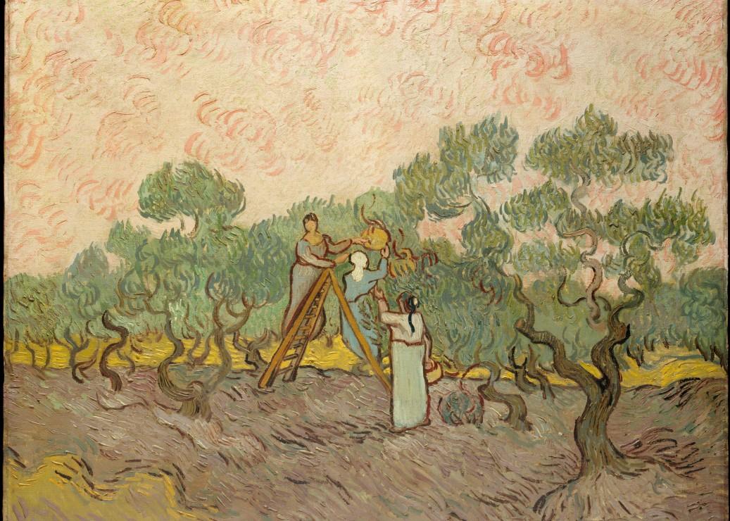 pieces-magnetiques-van-gogh-vincent-femmes-ramassant-des-olives-1889