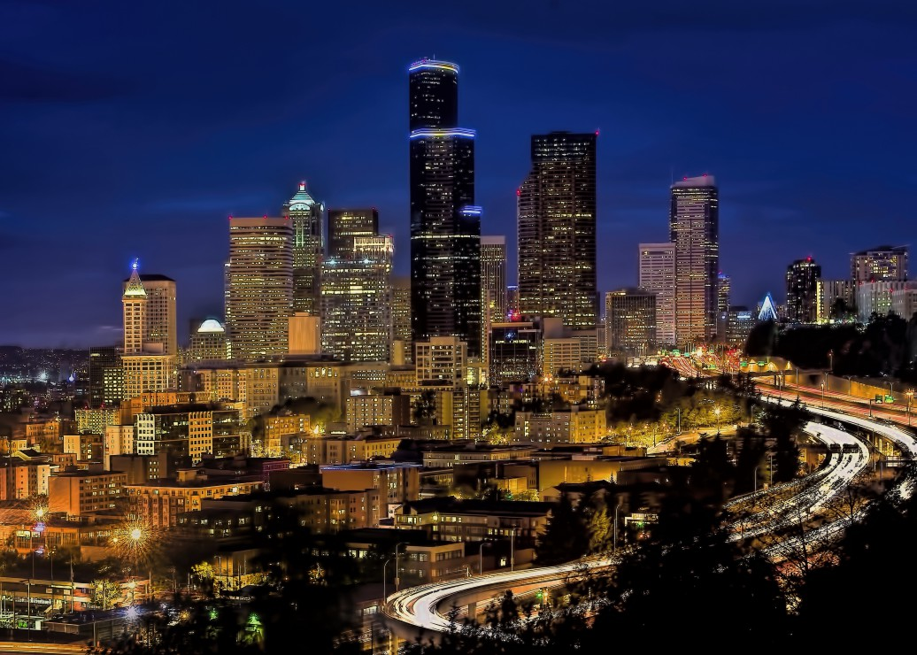 pieces-magnetiques-seattle-by-night